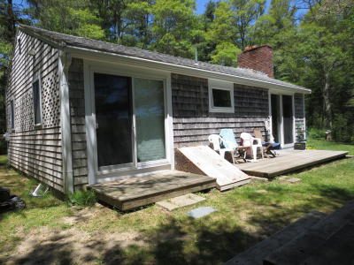Falmouth Single Family Home Contingent: 93 Lower Road