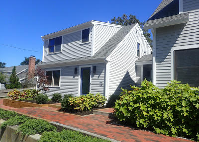 Provincetown Condo/Townhouse For Sale: 73 Franklin Street #2