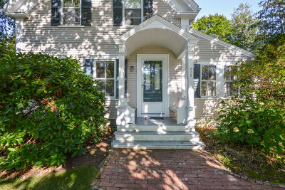Falmouth Single Family Home For Sale: 432 Davisville Road
