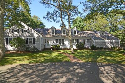 Barnstable Single Family Home Contingent: 10 Admirals Lane