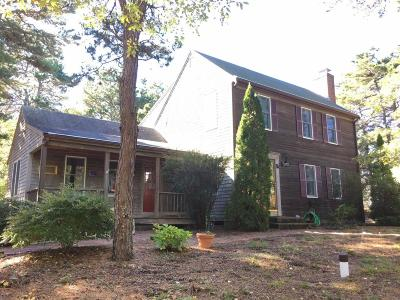 Eastham Single Family Home For Sale: 85 Foxwood Drive