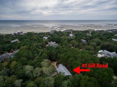 Eastham Single Family Home Contingent: 45 Gill Road