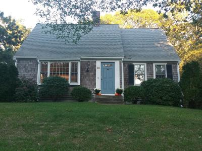 Harwich Single Family Home Contingent: 41 Rocky Way