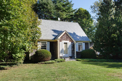 Falmouth Single Family Home Contingent: 23 Old Main Road