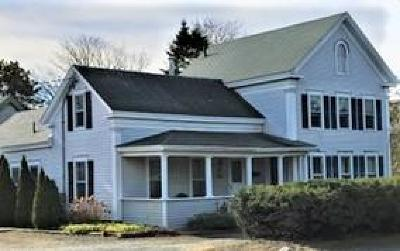 Harwich Single Family Home For Sale: 611 Route 28 (Main Street)