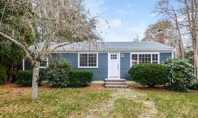Barnstable Single Family Home For Sale: 36 Field Road