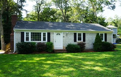 Mashpee Single Family Home Contingent: 20 Timberlane Drive