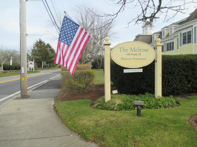 Harwich Condo/Townhouse For Sale: 601 Route 28 #109