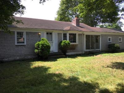 Falmouth Single Family Home For Sale: 889 W East Falmouth Highway