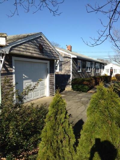 Sandwich Single Family Home For Sale: 15 Shawme Avenue
