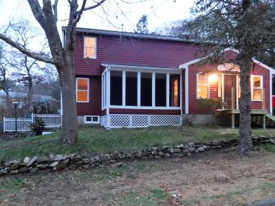 Bourne Single Family Home Contingent: 15 Cliff Road