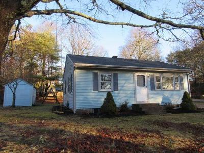 Bourne Single Family Home Contingent: 41 Marjorie Avenue