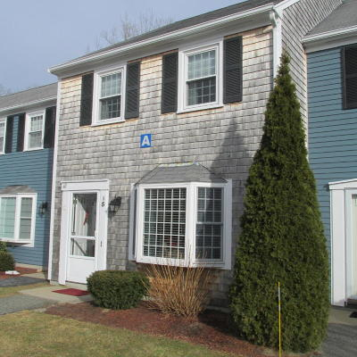 Sandwich Condo/Townhouse For Sale: 36 Atkins Road #A5