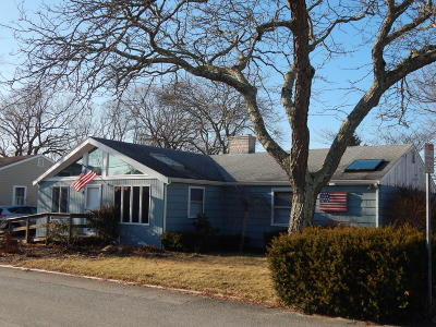 Provincetown Single Family Home Active W/Contingency: 6 Browne Street