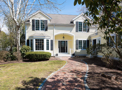 Mashpee Single Family Home For Sale: 65 The Heights