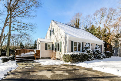 Falmouth Single Family Home Contingent: 133 Braeside Road