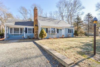 Falmouth Single Family Home Contingent: 51 Pine Ridge Road