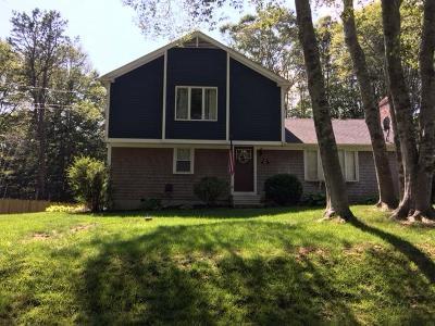 Mashpee Single Family Home For Sale: 166 Timberlane Drive
