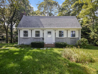 Falmouth Single Family Home Contingent: 88 Lucerne Avenue