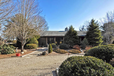 Barnstable Single Family Home For Sale: 1254 Santuit-Newtown Road