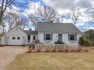 Barnstable Single Family Home For Sale: 112 Osterville-West Barnstable Road