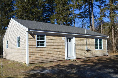 Falmouth Single Family Home For Sale: 337 Boxberry Hill Road