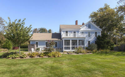 Barnstable Single Family Home Active W/Contingency: 10 Putnam Avenue