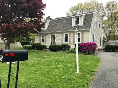 Falmouth Single Family Home Active W/Contingency: 40 Mattapan Street