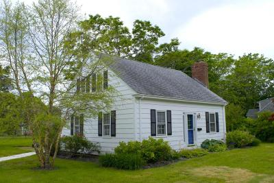 Falmouth Single Family Home For Sale: 27 Wright Way