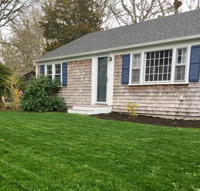 Harwich MA Single Family Home For Sale: $389,000