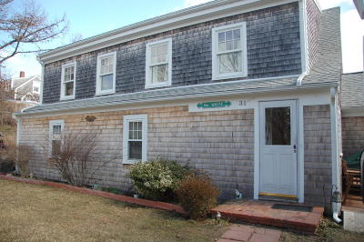 Chatham Single Family Home Contingent: 31 Seaview Terrace