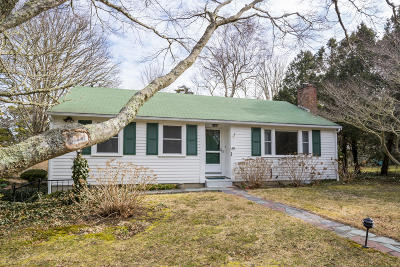 Chatham Single Family Home For Sale: 494 Crowell Road
