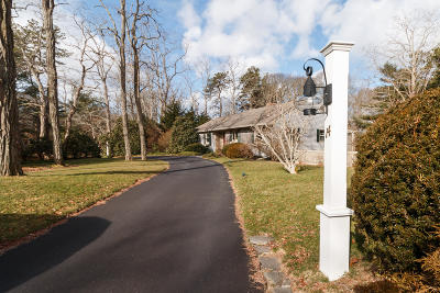 Bourne Single Family Home Contingent: 14 Red Brook Harbor Road
