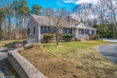 Barnstable Single Family Home Contingent: 78 Barnicle Drive