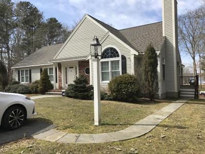Mashpee Single Family Home For Sale: 20 Wheeler Road