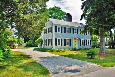 Falmouth Single Family Home Active W/Contingency: 22 Siders Pond Road