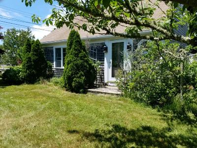 Yarmouth Single Family Home For Sale: 63 Standish Way