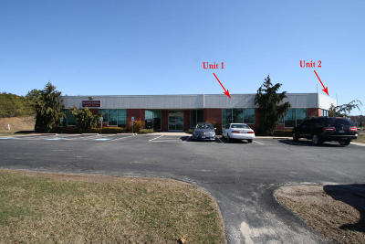 Commercial For Sale: 1 Technology Park Drive #1 & 2