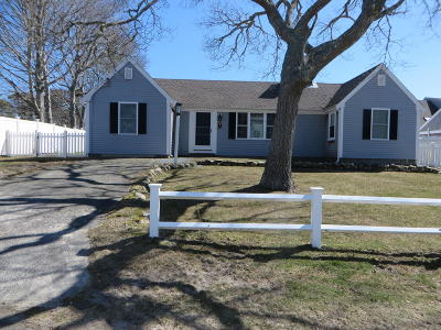 Harwich Single Family Home Contingent: 25 Grey Neck Road