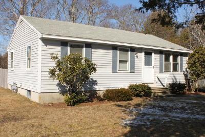 Falmouth Single Family Home Contingent: 19 Leonard Drive