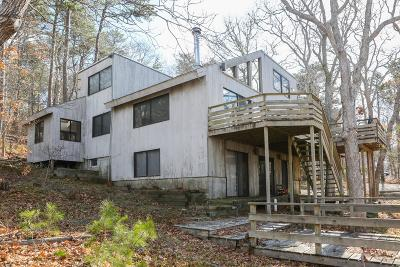 Wellfleet Single Family Home Active W/Contingency: 15 Browns Neck Road