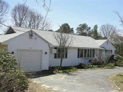 Dennis Single Family Home For Sale: 3 Old Chatham Road