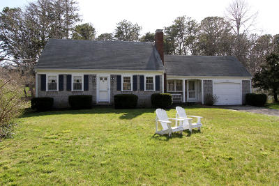 Harwich Single Family Home Active W/Contingency: 87 Julien Road