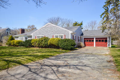 Falmouth Single Family Home Active W/Contingency: 149 Allen Avenue