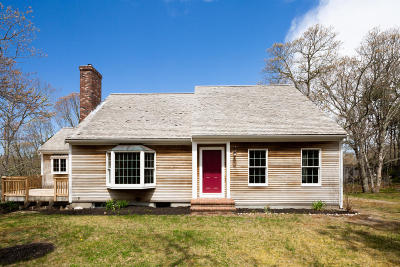 Wellfleet Single Family Home For Sale: 80 Whidah Way