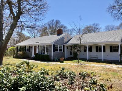Eastham Single Family Home For Sale: 55 Hoyt Road