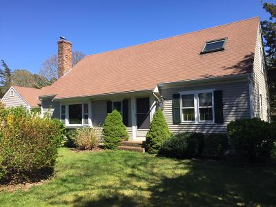 Falmouth Single Family Home Active W/Contingency: 143 Colonial Way