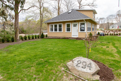 Single Family Home For Sale: 294 Woods Hole Road