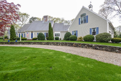 Dennis Single Family Home For Sale: 46 Bakers Pond Road