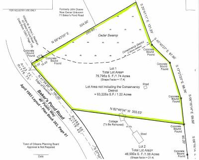 Orleans Residential Lots & Land For Sale: 85 Bakers Pond Road